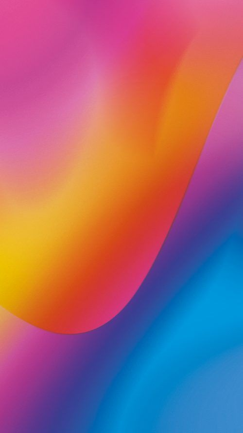 Free Download Lenovo K6 Note Wallpaper With Abtract Color Lights