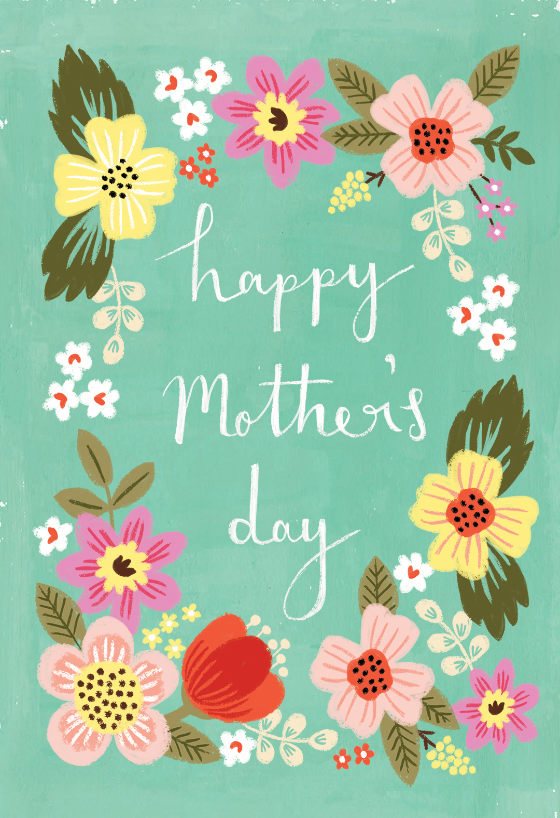 Happy Mothers Day Card Template Helga Le Happy Mother S Day Card Mothers Day Card Template Mothers Day Crafts