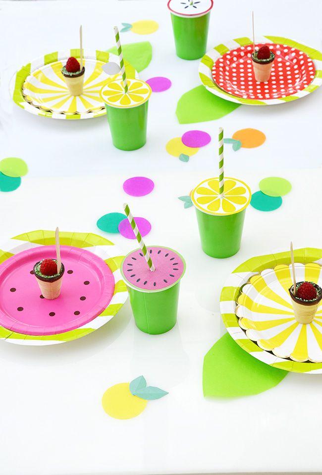 Früchteparty - Tutti Fruity Fruchtparty Ideen Birthdays, Birthday