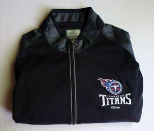 Tommy Bahama NFL Tennessee Titans Football Goal Line Full Zip Jacket Men XL e602bf872