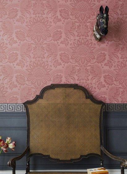 Tapete dukes damask designtapete von cole son 1678 - Tapete asiatisch ...