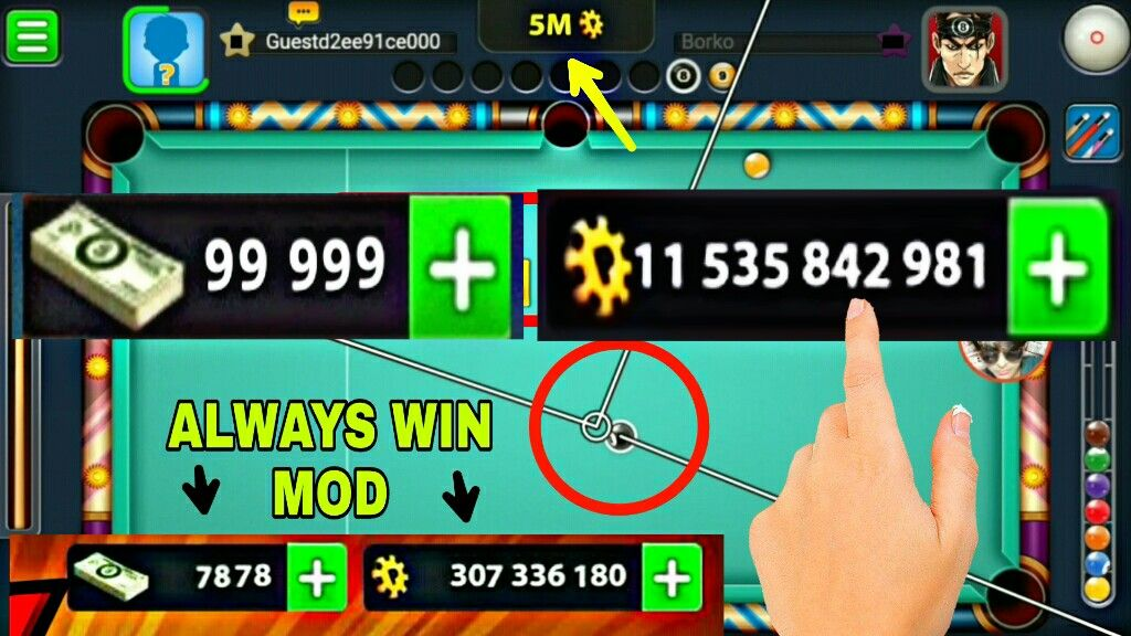 8 Ball Pool Hack Generator 2020 Free Coins Cash Cheats With