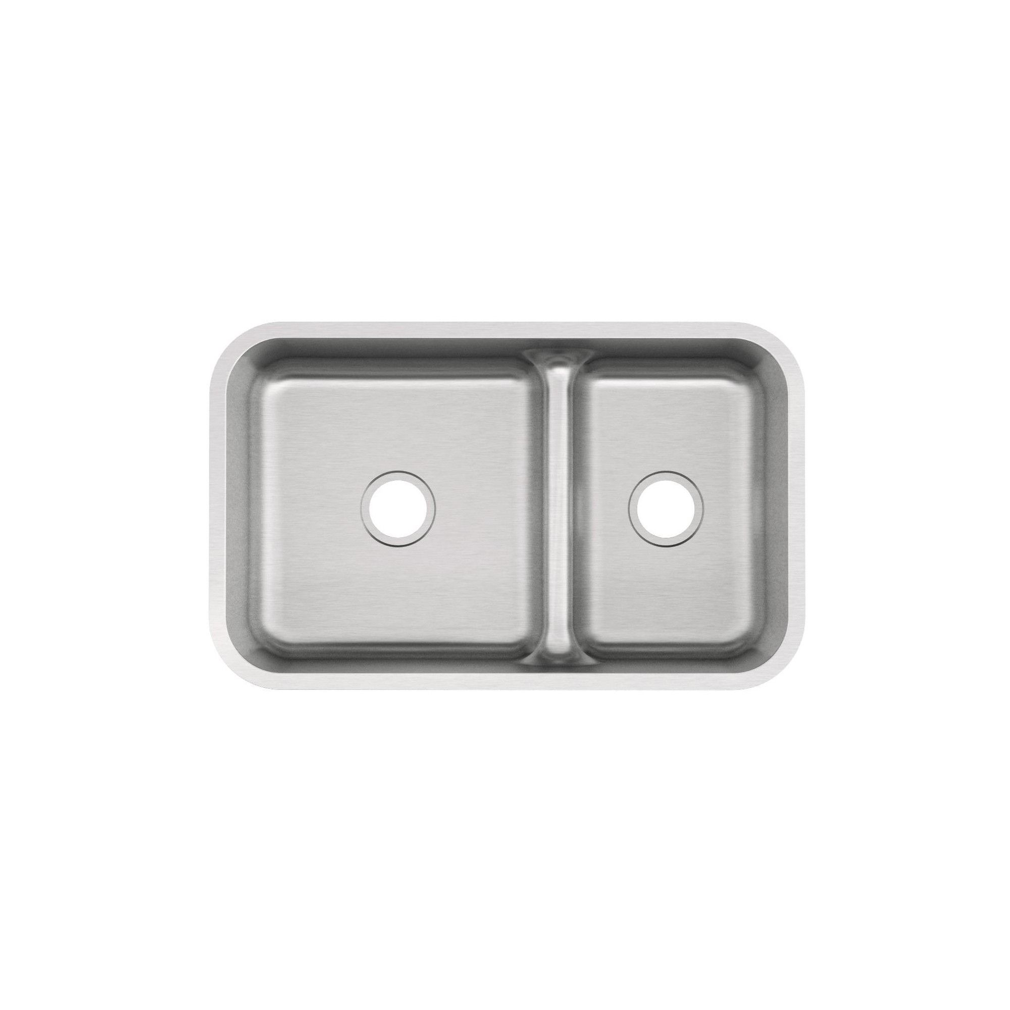 Mirabelle Mirurb3421 34 Double Basin Stainless Steel Kitchen Sink