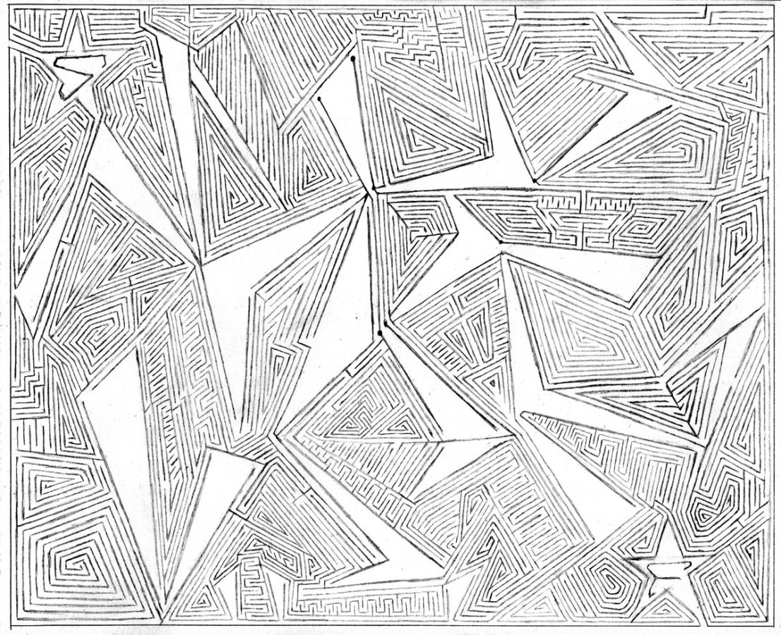 Incredible Hand Drawn Mazes By Damien Soskin How To Draw Hands