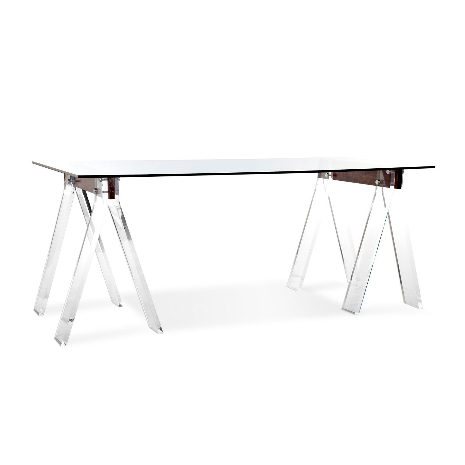 glass top home office desk. 2018 Glass Top Trestle Desk - Best Home Office Check More At Http:/