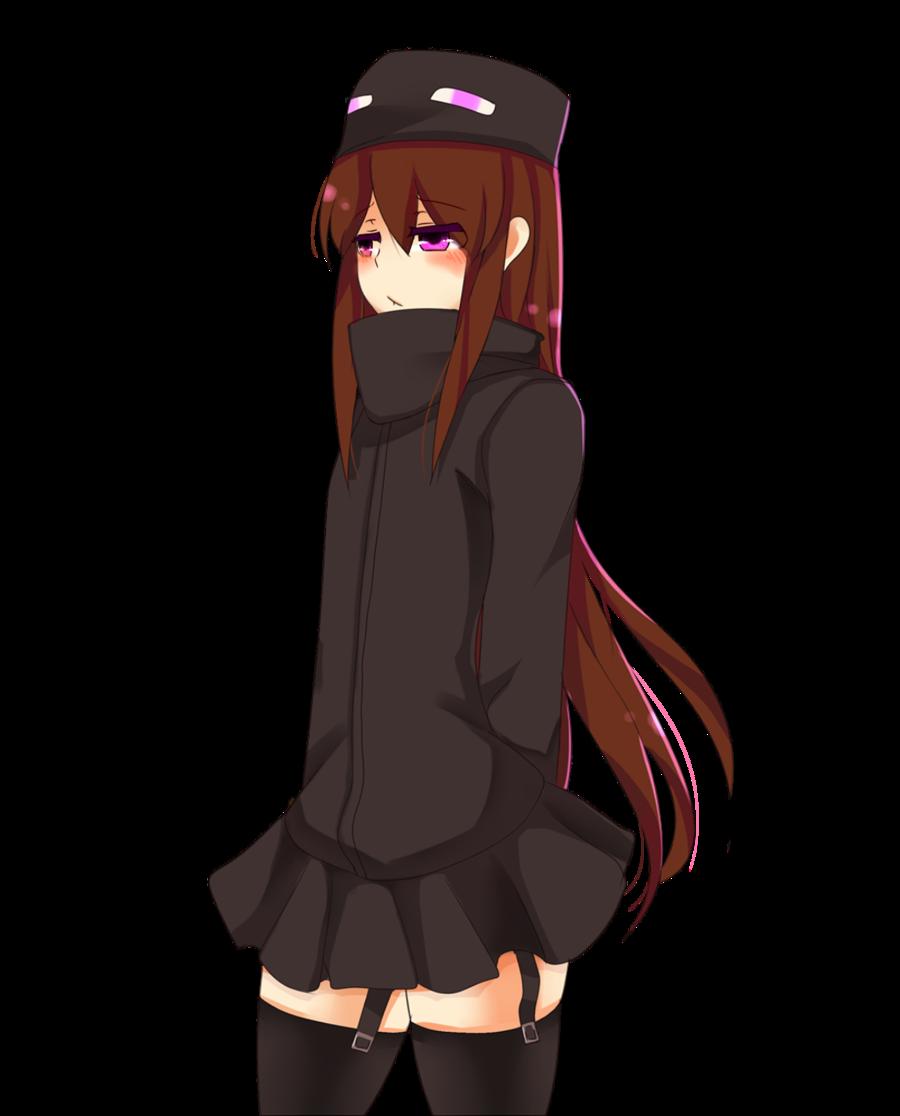 Ilmu Pengetahuan 10: Minecraft Anime Girl Enderman