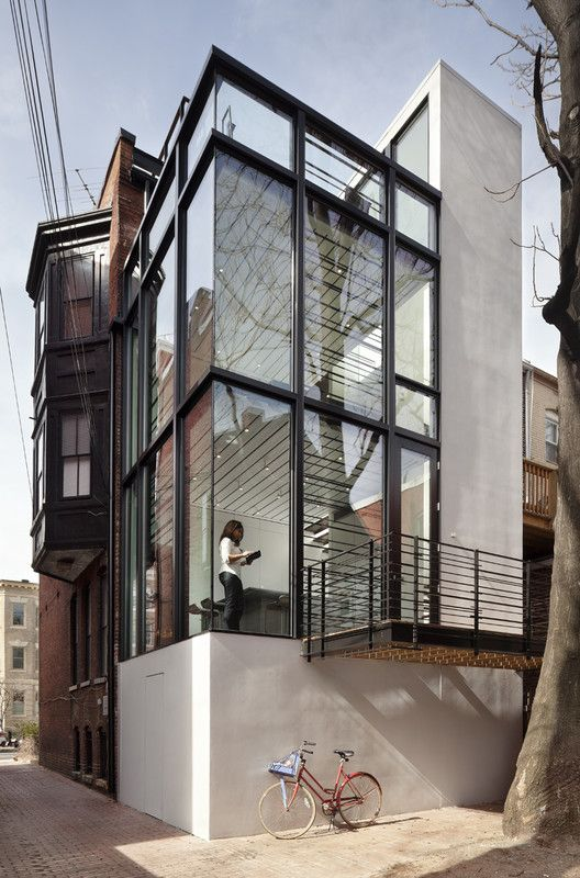 Barcode House,© Paul Warchol Photography