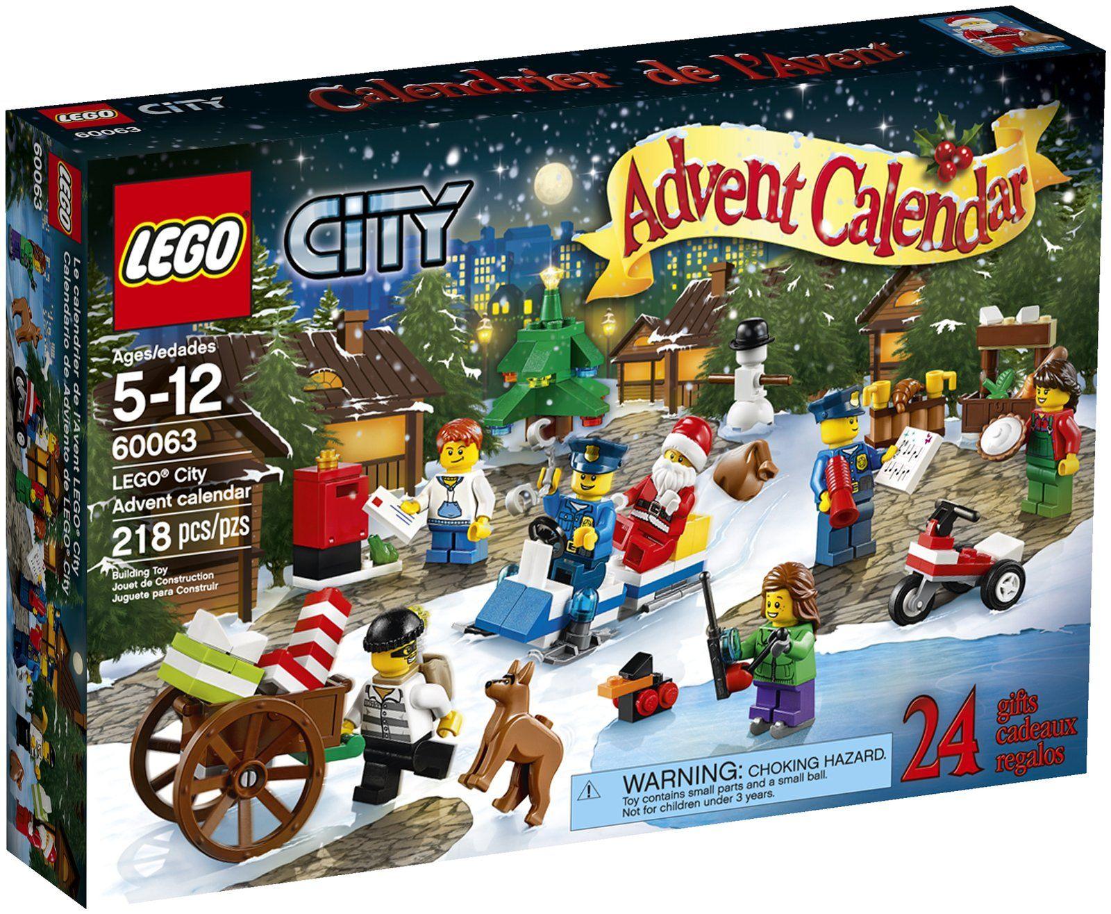 Lego Advent Calendar 24 Gifts Lego Advent Calendar Toy Advent