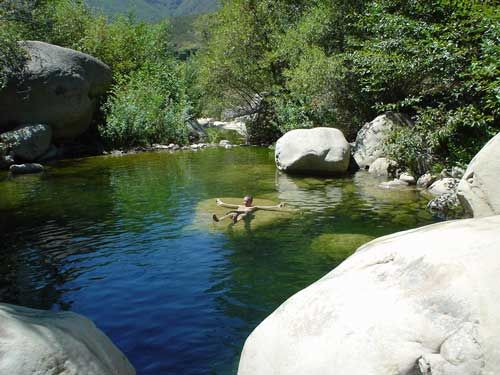 Matilija Hot Springs, Ojai CA  We used to swim here a lot