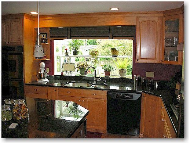 Kitchen Design Black Granite Countertops. Black Kitchen Designs and Accents  appliances Kitchens
