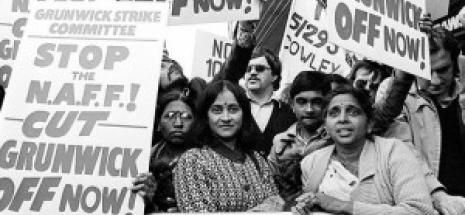 """1 February 2013 - First Friday Club, The Year of the Beaver """"This documentary follows the 2 year long strike at the Grunwick photographic processing plant in London in the 1970s, led predominantly by the Asian women who worked there. Featuring media coverage, including television, newspaper and radio reports as well as interviews with workers at the plant, the documentary charts a landmark event in the history of British industrial action, and set the stage for Thatcherism and…"""