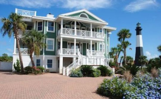 Oceanfront Cottage Als In Tybee Island Ga Pa Hotel Reviews Best Prices Trekaroo Beach Poolbeach House