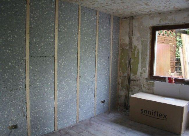 aislamiento-acustico-termico MÚSICA EN LA PARED Pinterest - isolation mur parpaing interieur