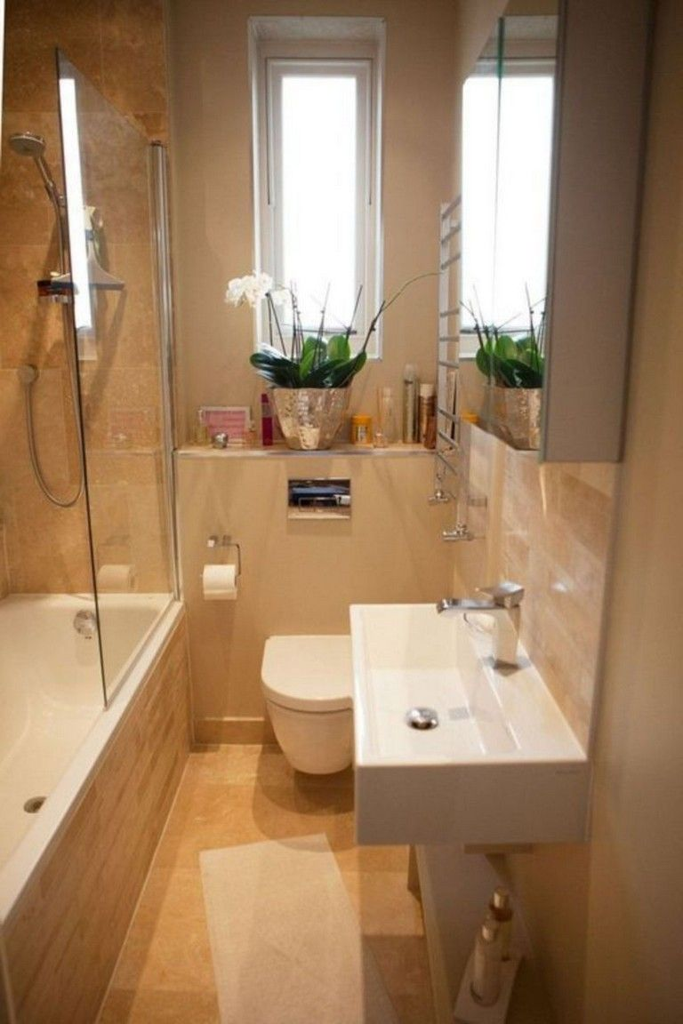 Nice Bathroom Design Ideas With A Small Tubs In 2020 Small Bathroom Tiny House Bathroom Tiny Bathrooms
