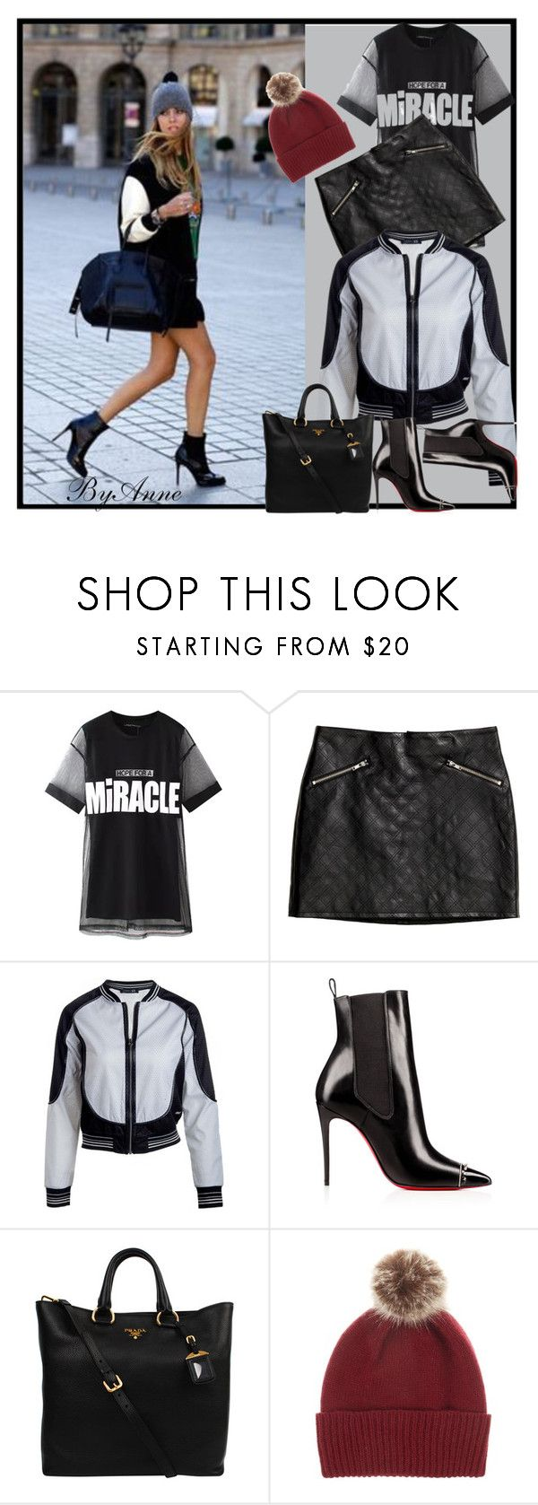 """""""24 November 2015"""" by anne-977 ❤ liked on Polyvore featuring Chicnova Fashion, H&M, Prada, Helen Moore and fallstyle"""