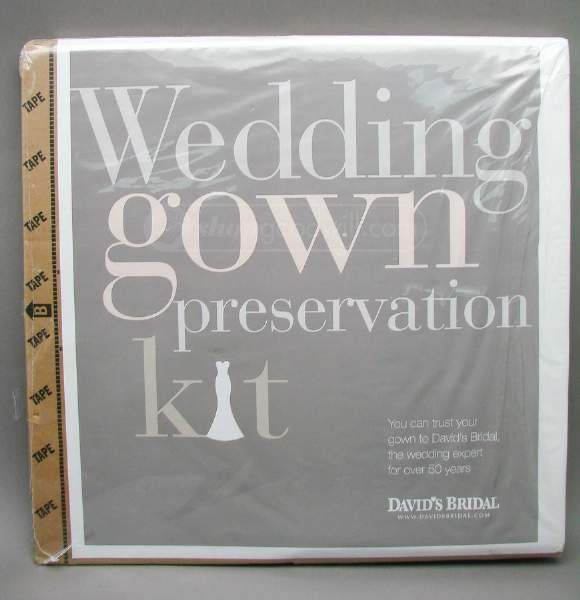 Wedding Gown Preservation Kit: WEDDING GOWN Preservation KIT David's Bridal NIOP