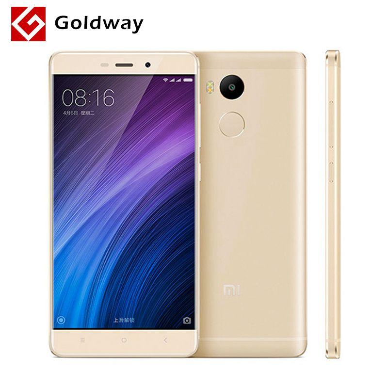 "Original Xiaomi Redmi 4 Pro Prime Mobile Phone Snapdragon 625 Octa Core CPU 5.0"" 1920x1080 FHD 3GB RAM 32GB ROM 13MP Camera MIUI"