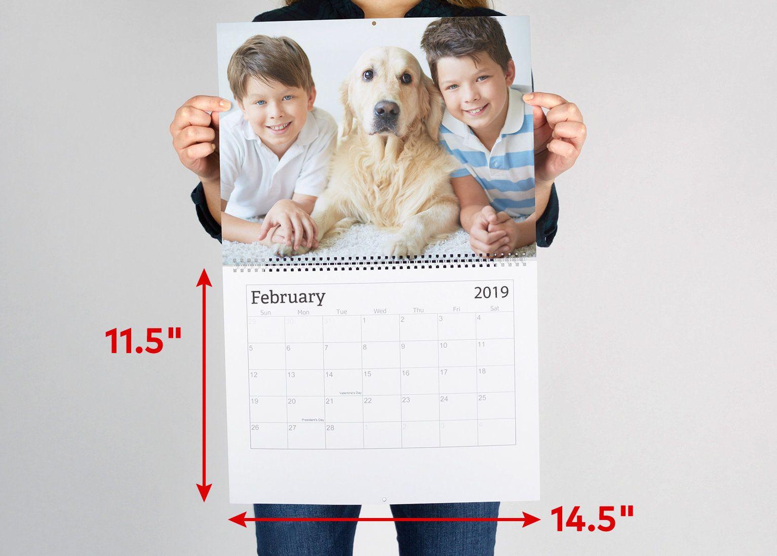 Wall Calendars Custom Photo Calendar Personalised Photo