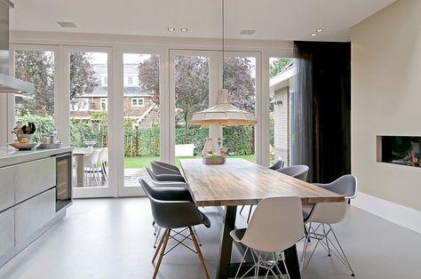 Keuken Uitbouw Design : Uitbouw aan achterzijde jaren woning mooi keuken indeling