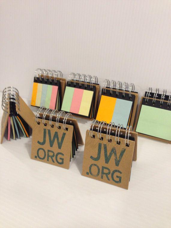 JW Org Mini Notebook/ Sticky sheets Notepad | g i f t s