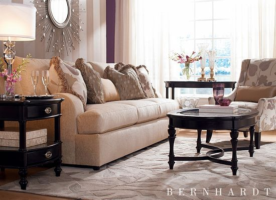 Beau Amanda, Living Rooms | Havertys Furniture. This Bernhardt Sofa Is Dressy  Enough For A Living Room Yet Comfortable Enough For Reading And Kicking  Back.