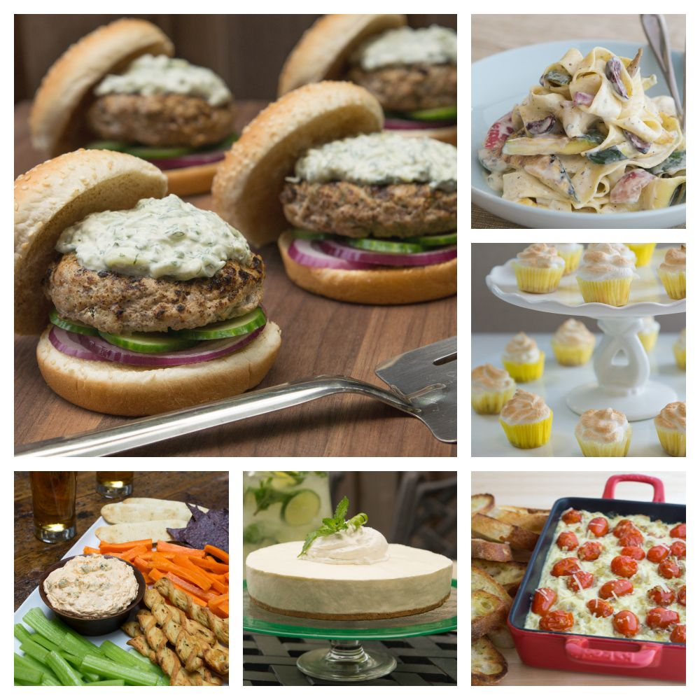 Philly Summer Favourites Cookbook 20 Recipes Featuring Philadelphia Cream Cheese And Philadelphia Cooking Creme
