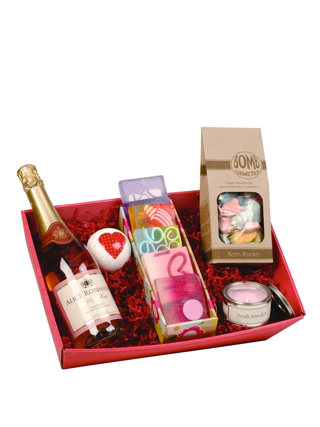 Pamper Hamper With Personalised Sparkling Rose Very Co Uk Personalised Gift Shop Pamper Hamper Beautiful Personalized Gifts
