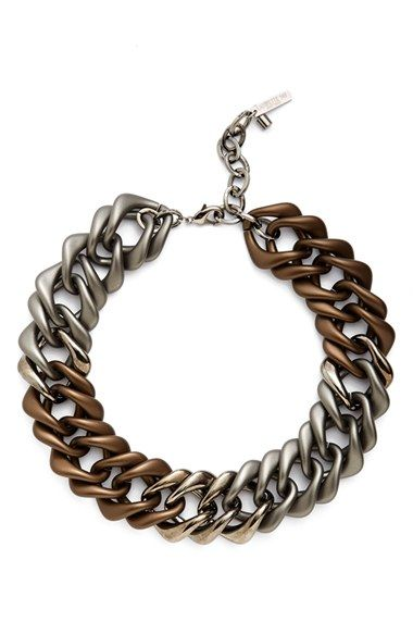Lafayette 148 New York Oversize Chain Link Necklace