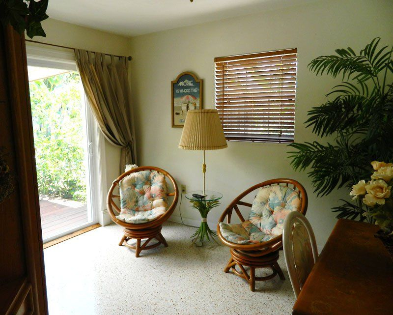 """The """"before"""" photo of the small study we made over into our summery beach guest room. Beaches, Bars and Bungalows travel blog"""