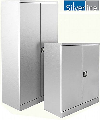 Nice NEXT DAY Silverline Kontrax Office Cupboards | Cheap NEXT DAY Silverline  Kontrax Office Cupboards From Our