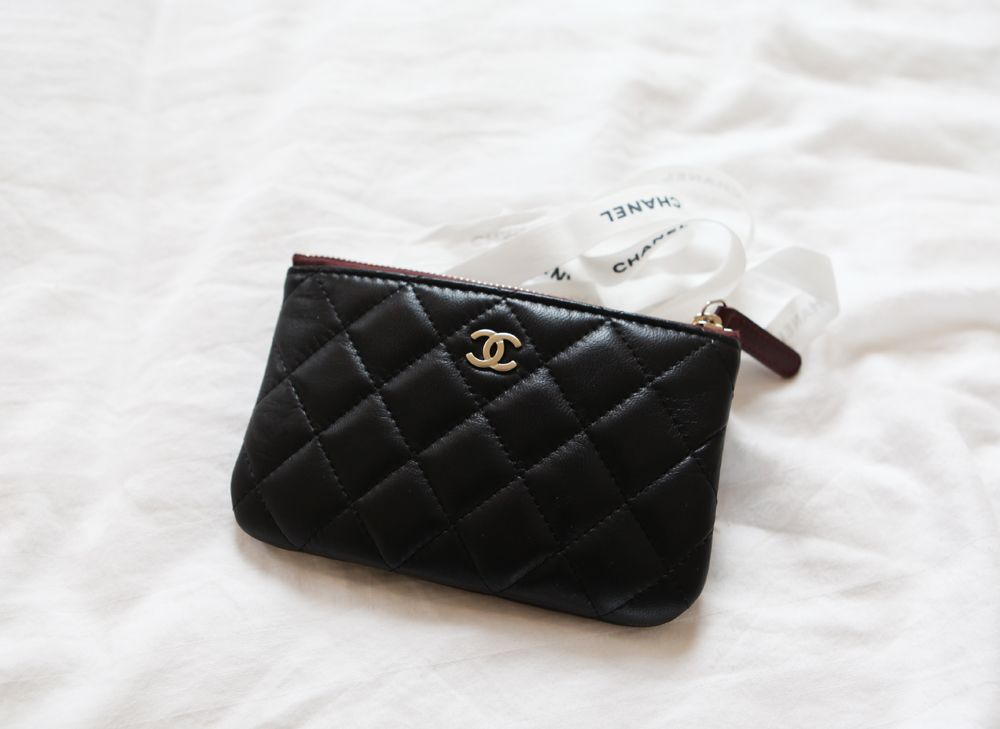 chanel zip coin purse. chanel coin purse zip l