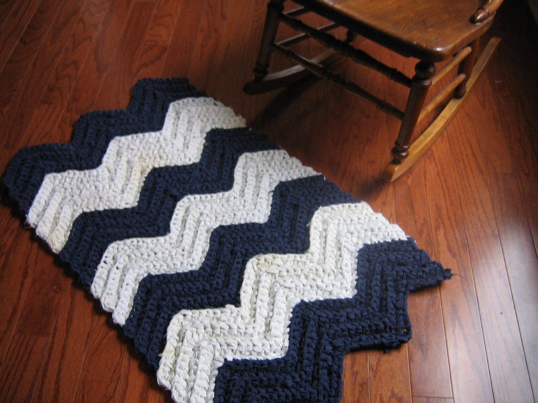 Chevron rag crochet rug pattern 500 via etsy home chevron rag crochet rug pattern 500 via etsy bankloansurffo Gallery