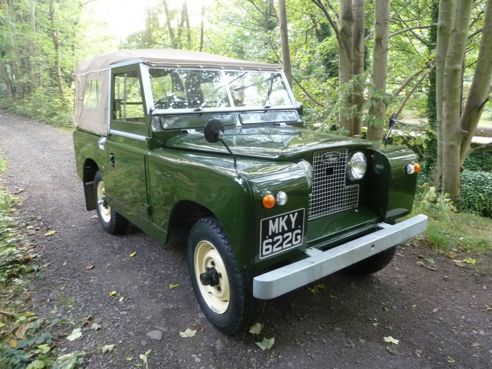 1960 Land Rover Series IIA | Old Is Gold...The English Way ...