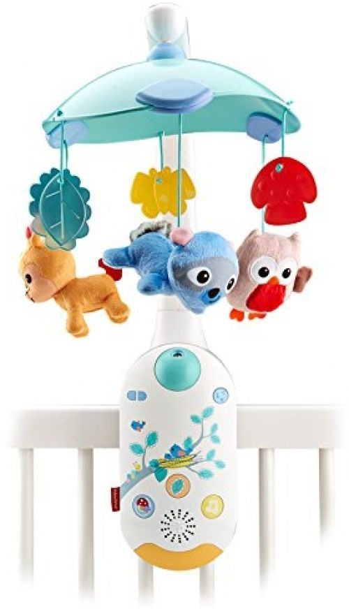 Baby Crib Mobile Projection Fisher Price Baby Infant Boy Girl Music ...