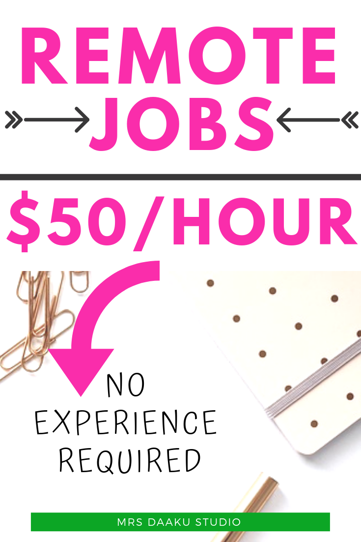 50 best work from home jobs that pay well in 2019 | Work