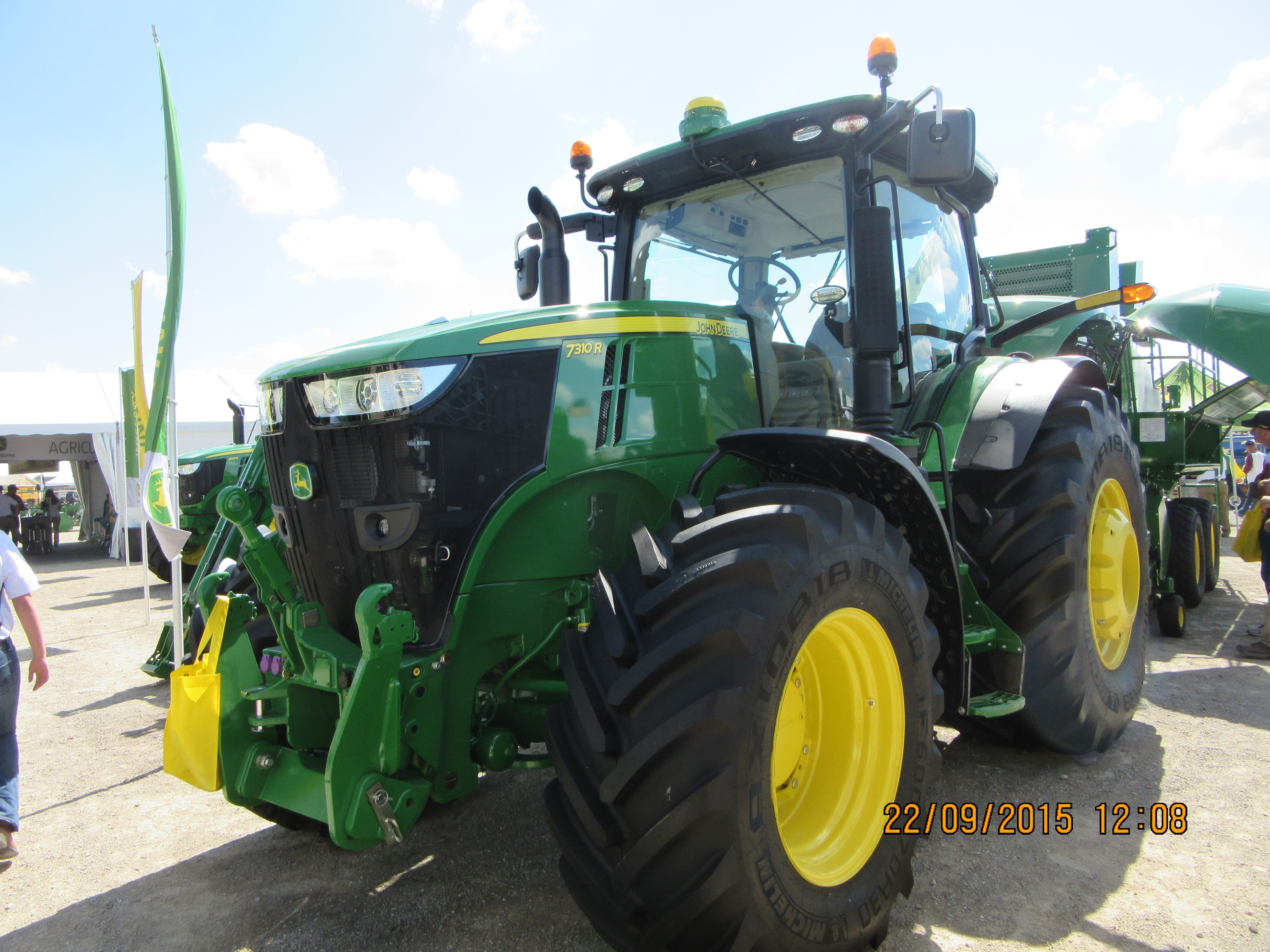 260 PTO hp John Deere 7310R.Not much more PTO then a 8760 of 25 years ago  the 8770 from 20 years ago