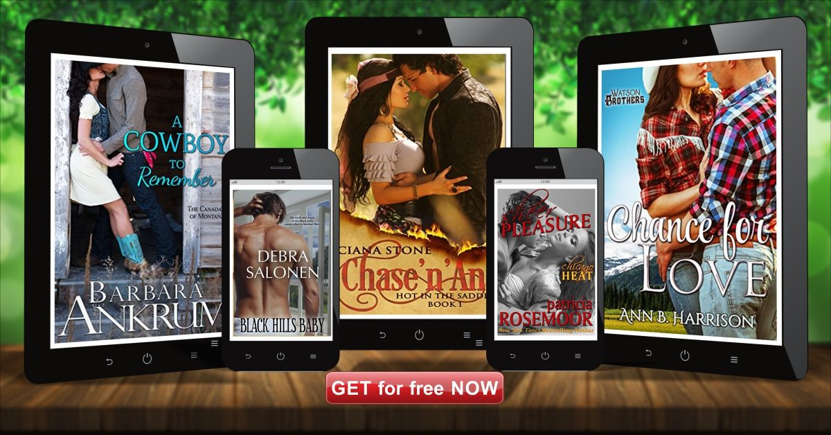 Get 5 fulllength Contemporary Romance eBooks for FREE