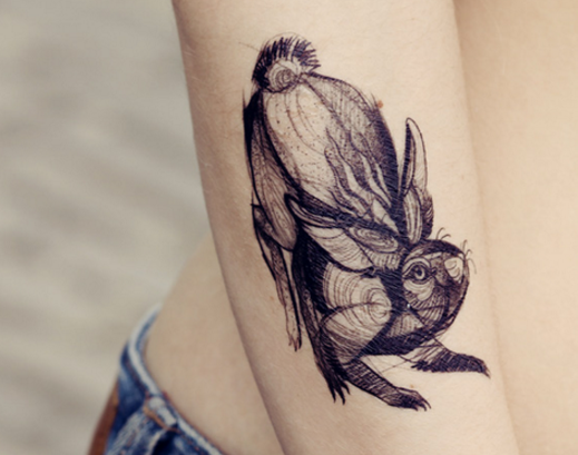 17 Fake Tattoos So Good You'll Wish They Were Actually