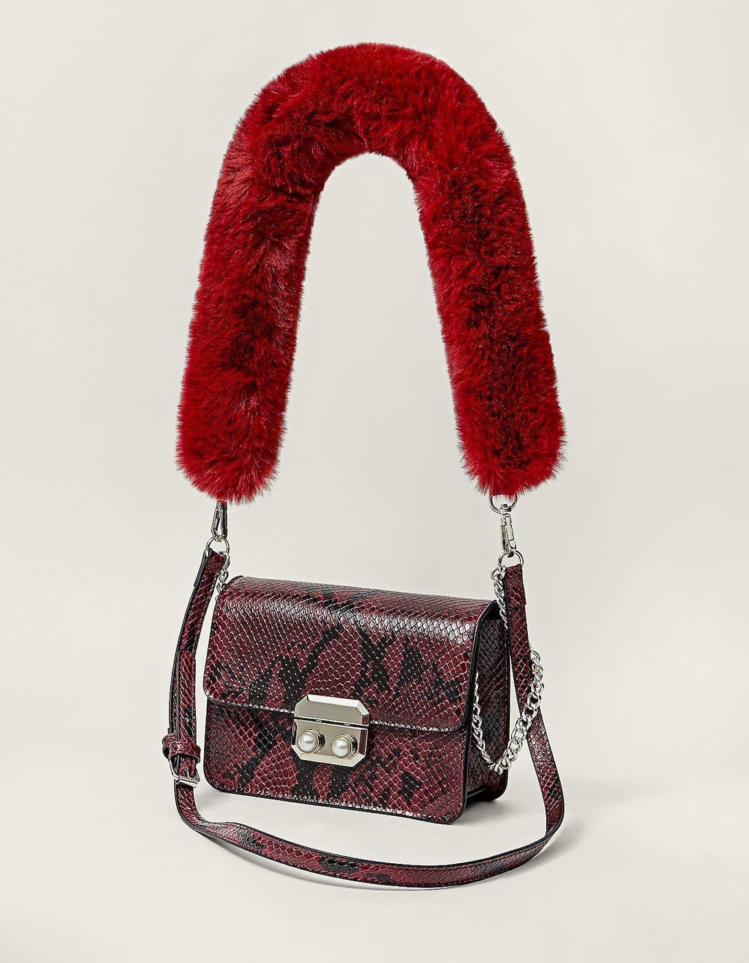 Photo of Mini snake shoulder bag – Women's bags and backpacks | Stradivarius