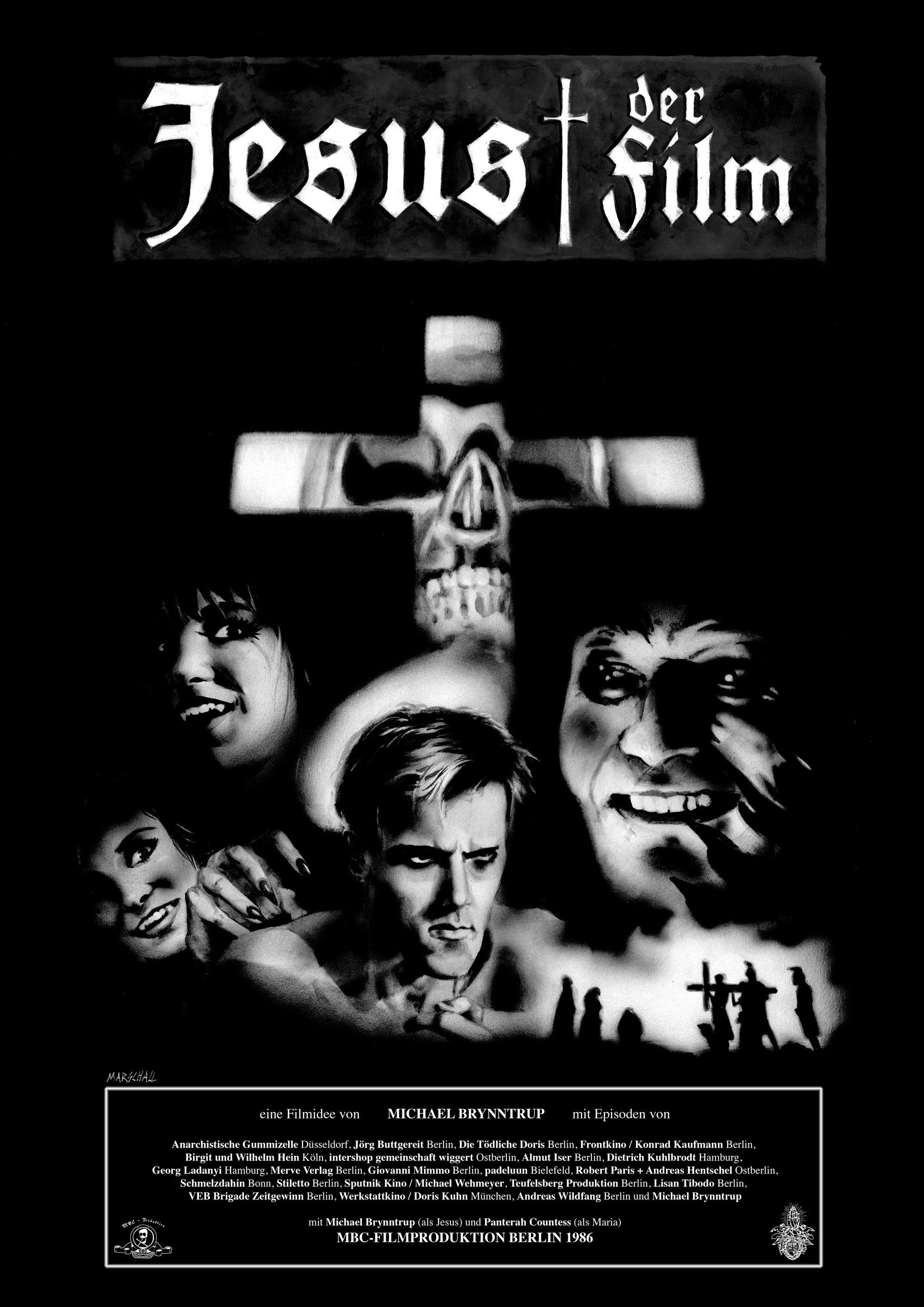 Film Poster Jesus Der Film Michael Brynntrup Iffr