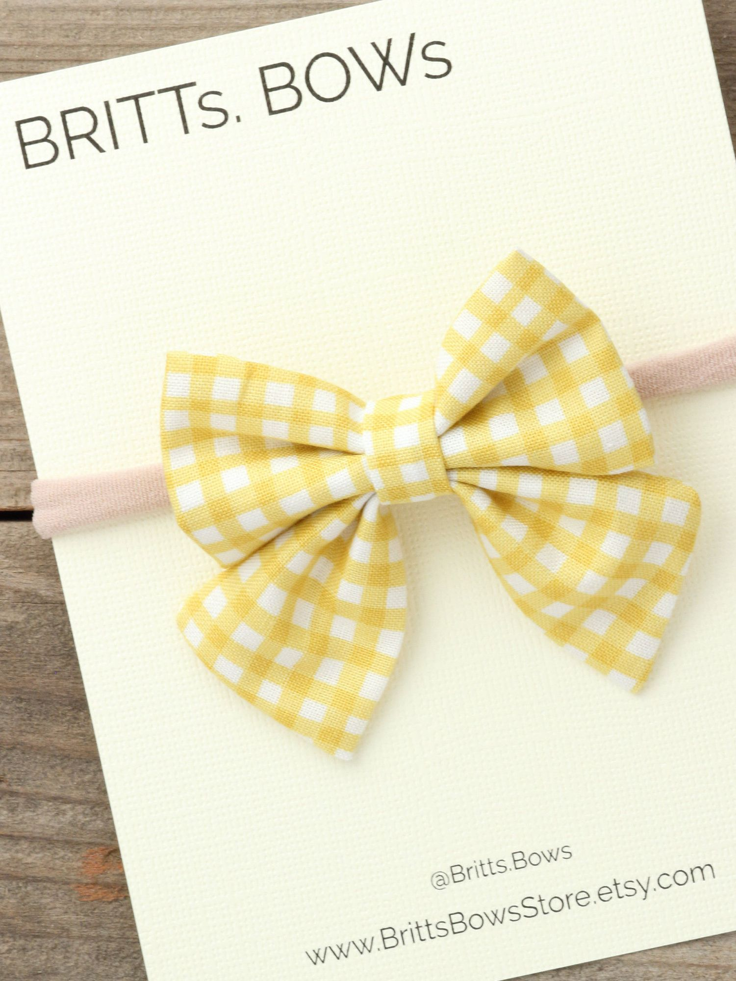 Fall baby headbands are here! Click through to shop! This gingham Mustard  baby headband is the perfect hair accessory for you baby girl this fall. 06a4128c6b1