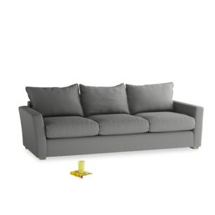 Extra Large Pavilion Sofa In French Grey Brushed Cotton Sofa Comfy Sofa Beautiful Bedding
