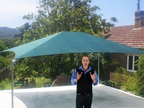 SolarMax Shade Structure - YouTube