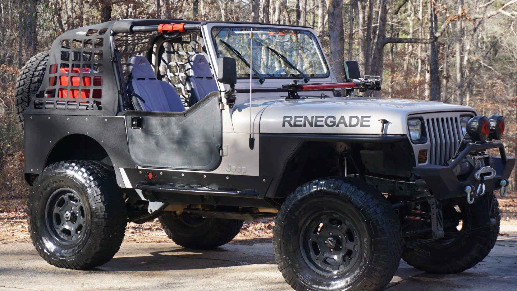 1995 Jeep Wrangler Custom 1 Print Image Custom Jeep Wrangler Jeep Wrangler Jeep