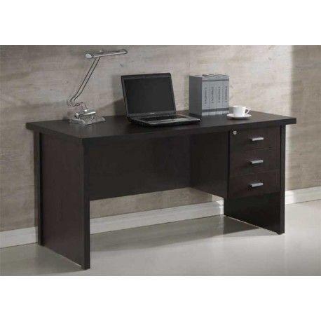 bonita mesa de despacho modelo scar disponible en dos colores wengu o maple cerezo