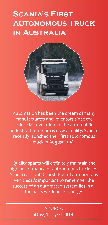 Scania S First Autonomous Truck In Australia Trucks