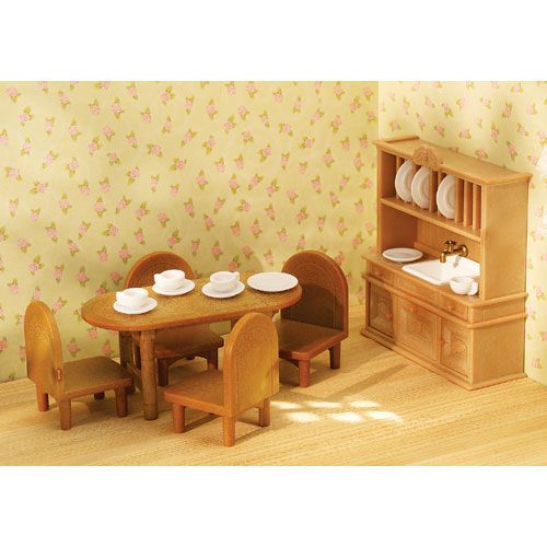 Calico Critters Country Dining Room