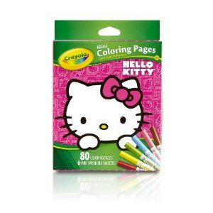 Crayola Hello Kitty Mini Coloring Pages Crayola Coloring Pages Hello Kitty Coloring Kitty Coloring
