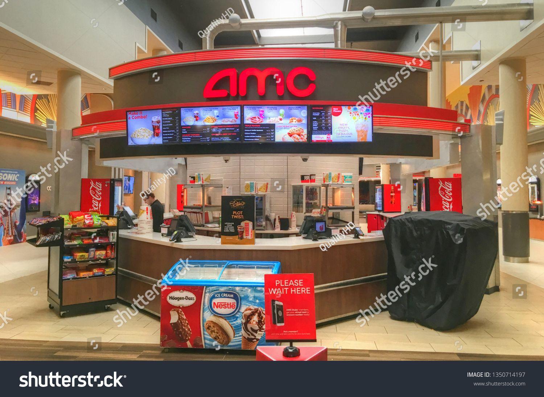 Amc movie theater cinema candy food snack bar refreshments