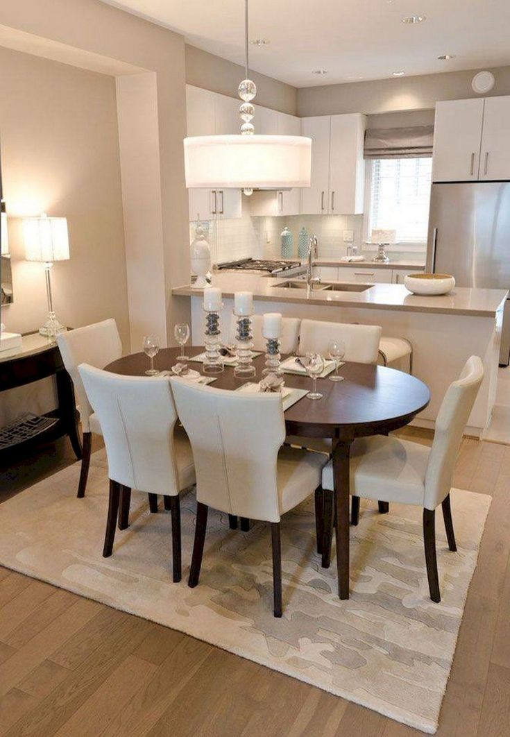 A Dining Room Design He Will Surely Love Small Dining Room Table